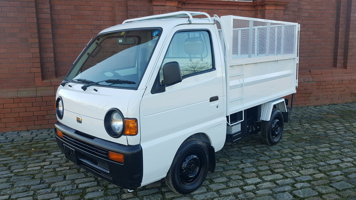 1996 MAZDA SCRUM RARE 660cc MANUAL HIGH BACK TIPPER TRUCK For Sale (picture 1 of 6)