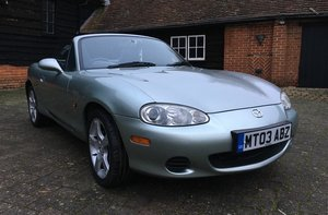 2003 Mazda MX-5 1.8i Nevada For Sale by Auction
