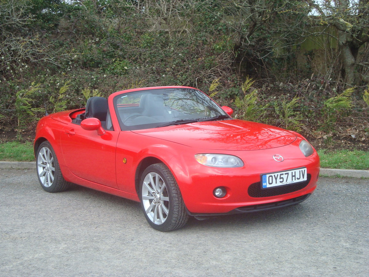 2007 Mazda MX5 2.0 Sport Roadster,2 owners, 21000 miles. SOLD (picture 2 of 6)