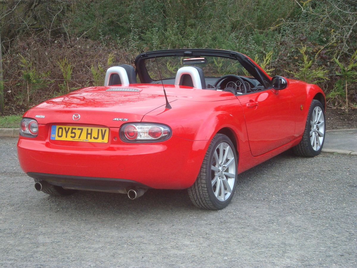 2007 Mazda MX5 2.0 Sport Roadster,2 owners, 21000 miles. SOLD (picture 3 of 6)
