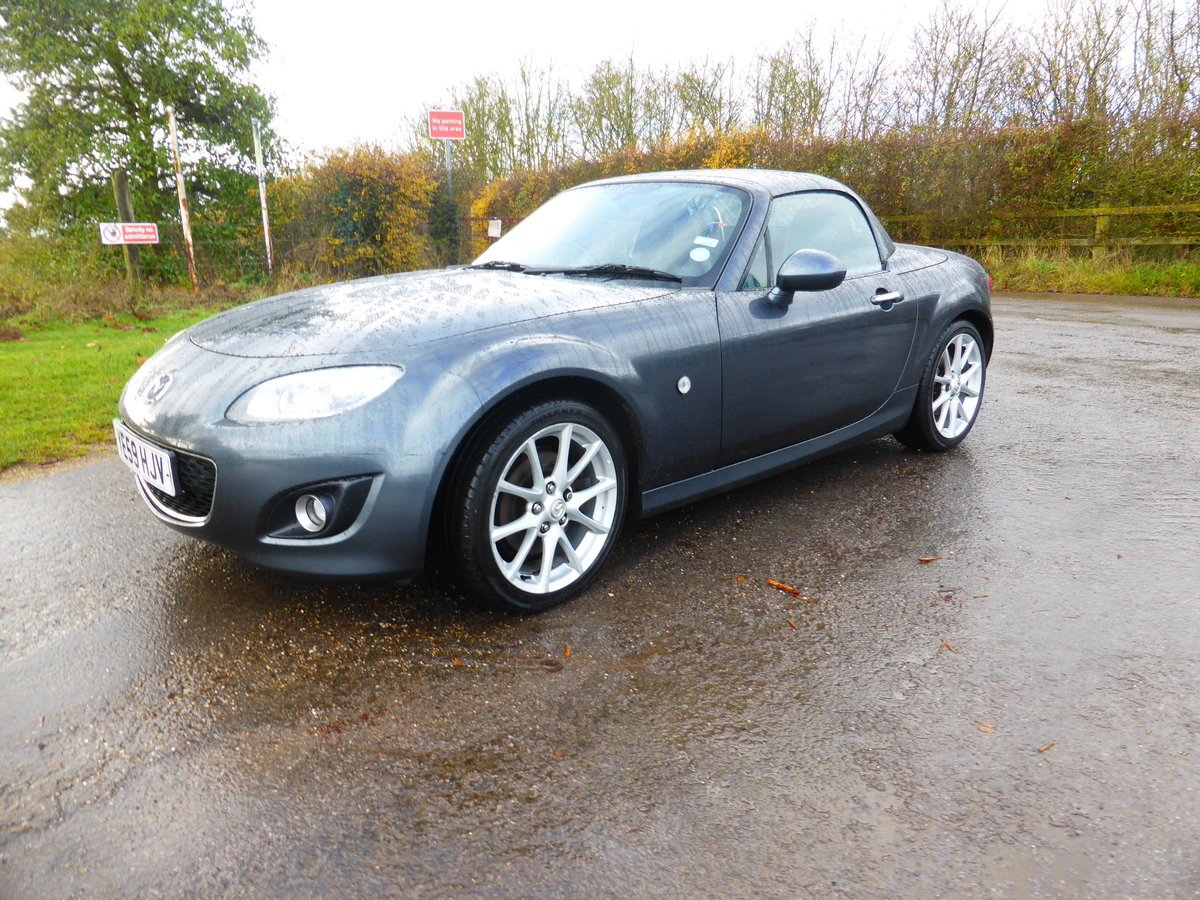2009 MAZDA MX5 SPT TECH FSH For Sale (picture 1 of 6)
