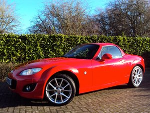 2010 A STUNNING Low Mileage Mazda MX-5 2.0i SportTech (Hardtop) For Sale