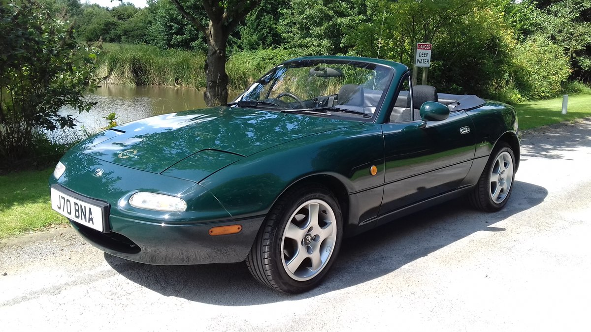 1997 MAZDA MX-5 MK1 ~ 'Limited Edition' MONZA ~ SUPERB !!!   SOLD (picture 5 of 6)