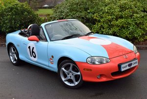 2001 MAZDA MX5 1.8 Sport UK CAR + LOW MILEAGE + Gulf Livery