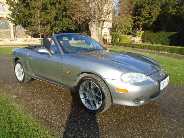 2004 Mazda MX5 Euphonic, 1800cc + Leather.  For Sale (picture 1 of 6)
