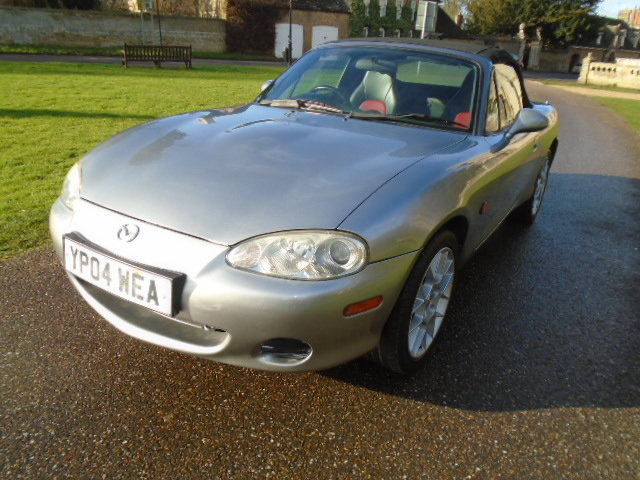 2004 Mazda MX5 Euphonic, 1800cc + Leather.  For Sale (picture 2 of 6)