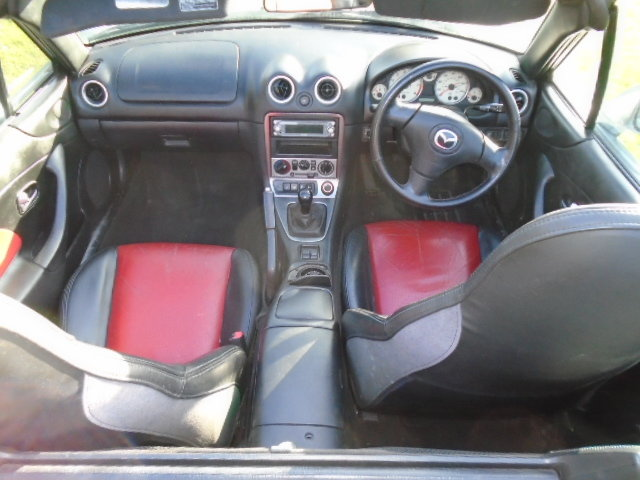 2004 Mazda MX5 Euphonic, 1800cc + Leather.  For Sale (picture 5 of 6)