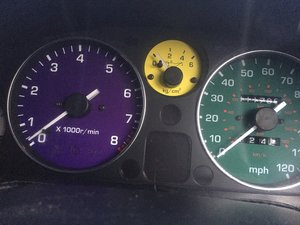 1991 Mazda eunos roadster Multi coloured