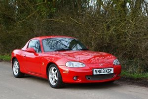 2003 Mazda MX-5 1.8i For Sale by Auction