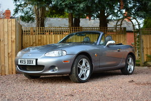 2004 Mazda MX-5 MkII S-VT Sport BBR Turbo For Sale by Auction
