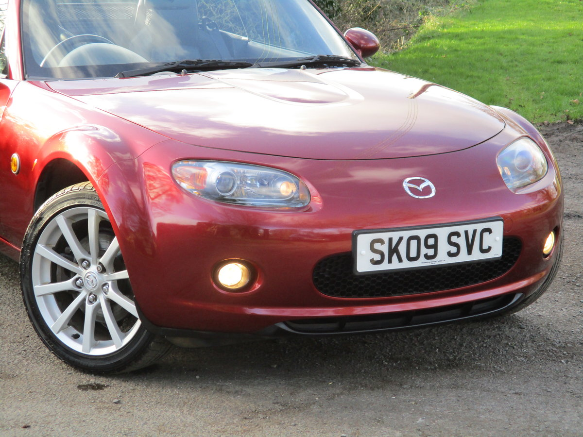 2009 Exceptional low mileage MX5 Sport. MX5 SPECIALISTS For Sale (picture 1 of 6)