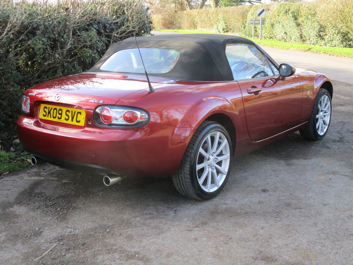 2009 Exceptional low mileage MX5 Sport. MX5 SPECIALISTS For Sale (picture 4 of 6)