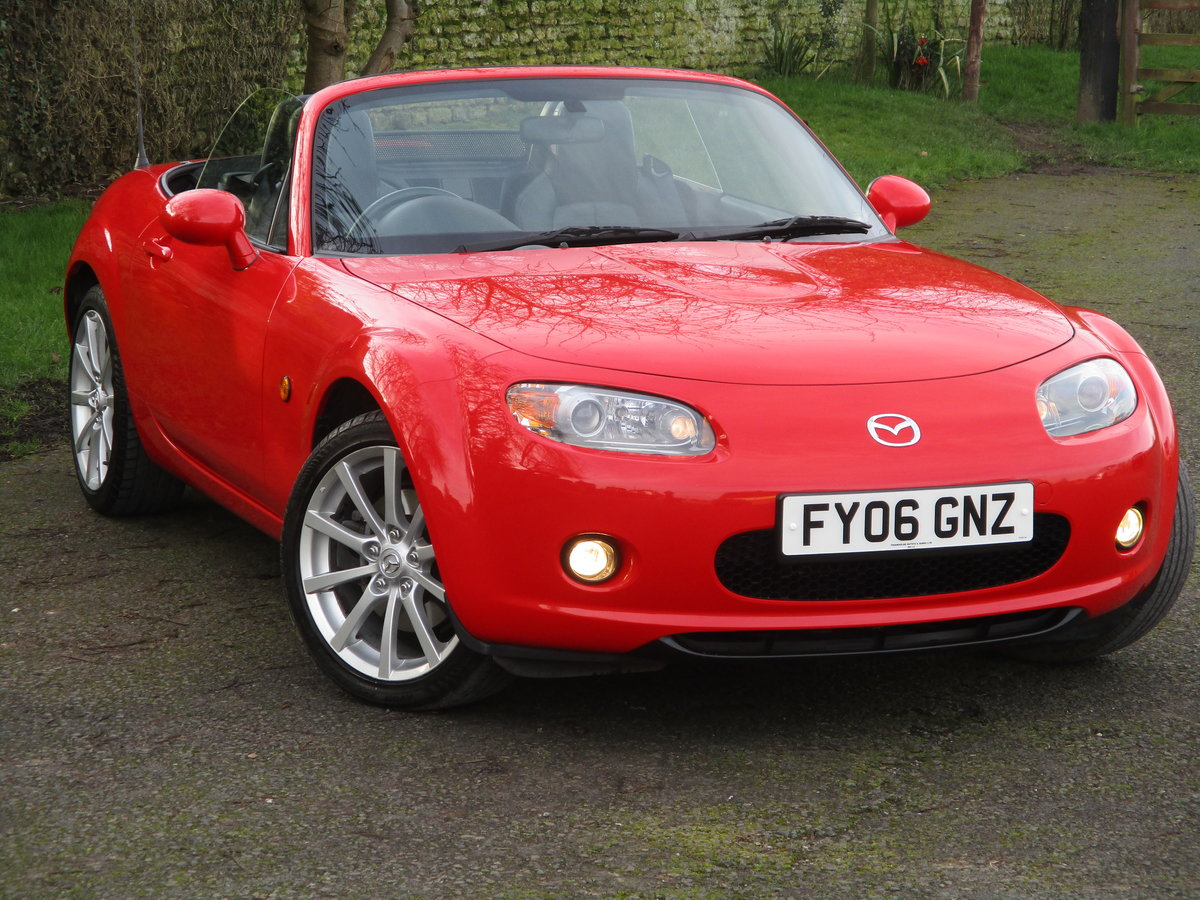 2006 Exceptional low mileage MX5 Sport. MX5 SPECIALISTS For Sale (picture 1 of 6)