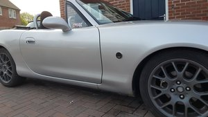 2003 Silver Mazda MX5 1.8vvt For Sale