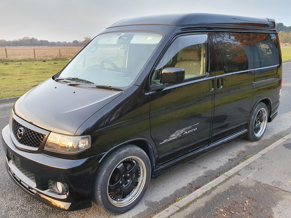 2003 Mazda bongo campervan 6 seat 4 berth with kitchen For Sale   Car And Classic