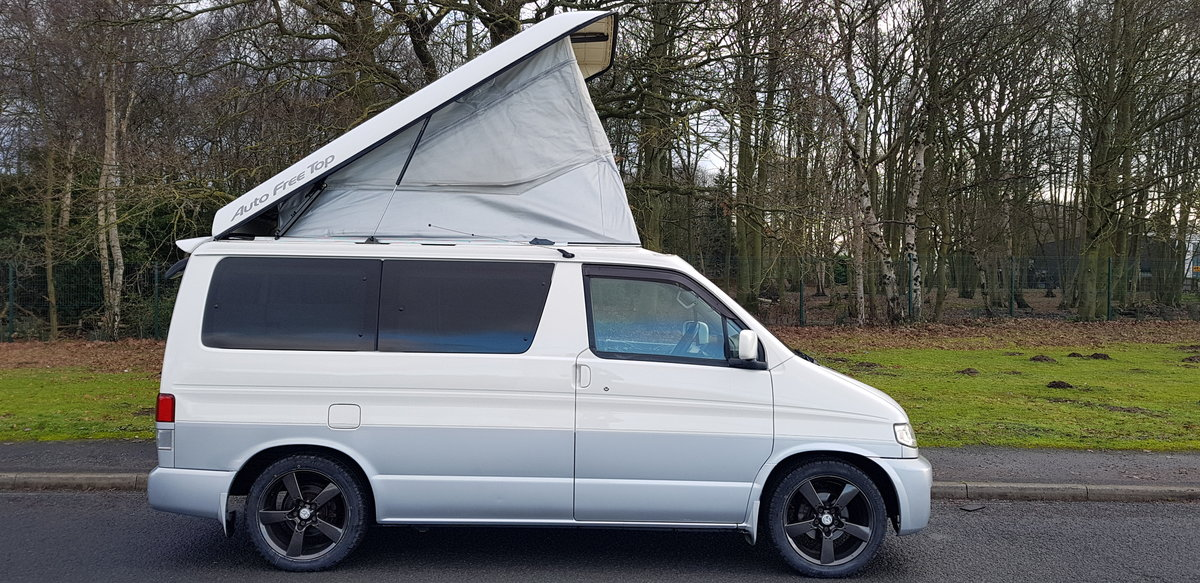 1999 Mazda bongo campervan 4/5 berth 6 seat & kitchen For Sale (picture 1 of 6)