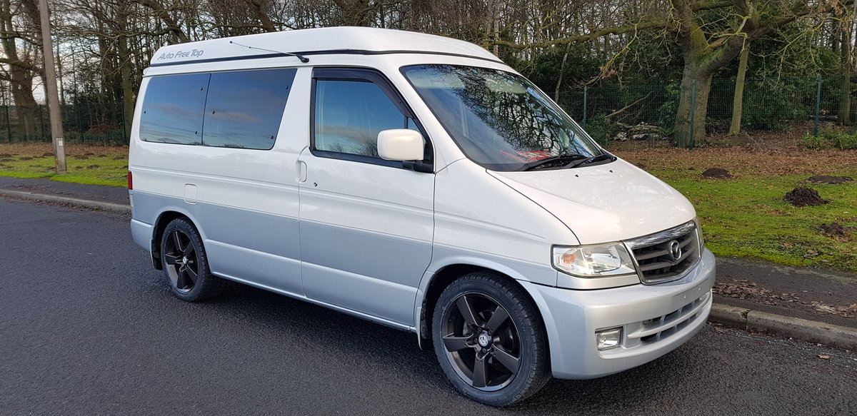 1999 Mazda bongo campervan 4/5 berth 6 seat & kitchen For Sale (picture 4 of 6)