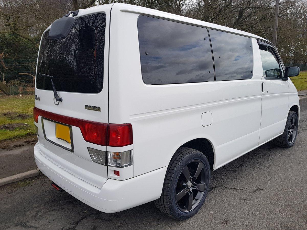 2003 Mazda bongo campervan 3 berth 6 seat,kitchen 21k For Sale (picture 2 of 6)