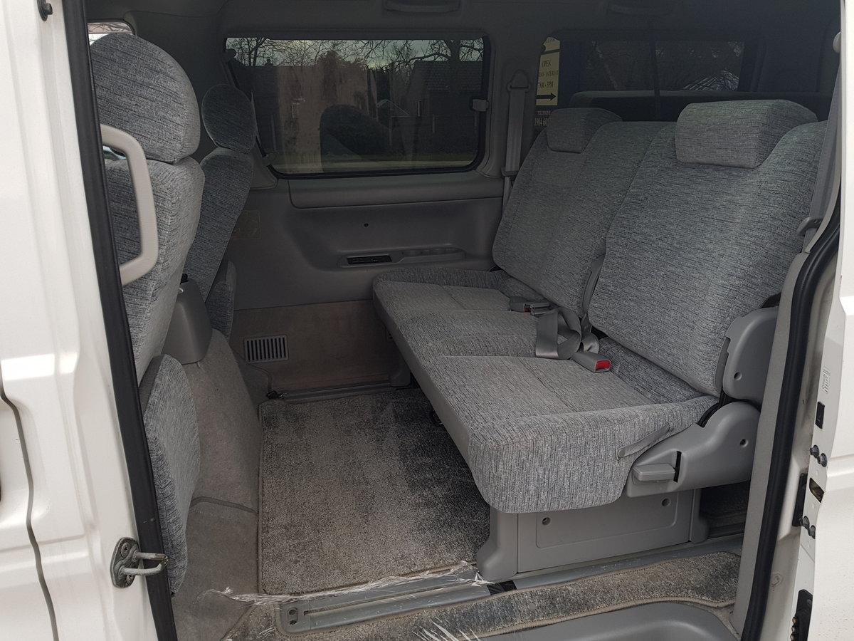 2003 Mazda bongo campervan 3 berth 6 seat,kitchen 21k For Sale (picture 5 of 6)
