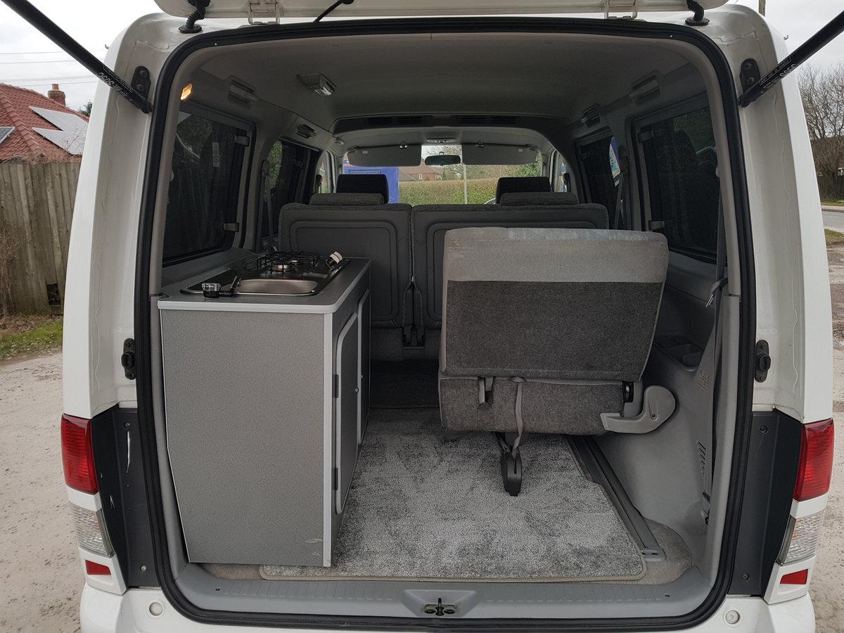 2003 Mazda bongo campervan 3 berth 6 seat,kitchen 21k For Sale (picture 6 of 6)