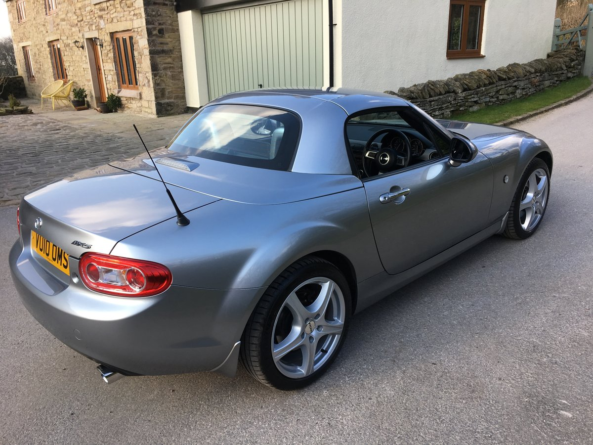 2010 MAZDA MX-5 SPORT TECH CONVERTIBLE 6 SPEED FSH LEATHER TRIM For Sale (picture 3 of 6)