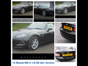 2013 Mazda MX5 Priced to sell