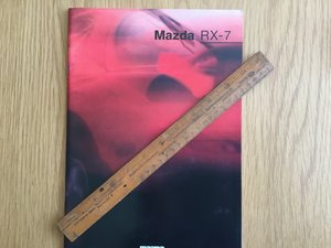 1993 Mazda Rx 7 brochure SOLD