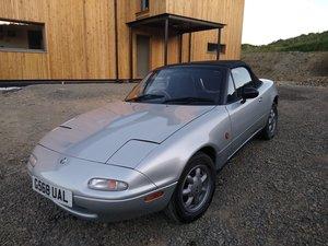 1990 Mazda Eunos Roadster MX5 NA Mk1 - Silver Stone