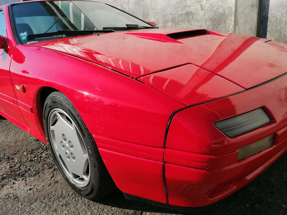 1988 LHD Mazda RX7 turbo II For Sale (picture 1 of 6)
