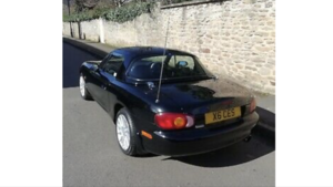 Mazda MX5 1.8iS Black Jasper Conran -  only 34k
