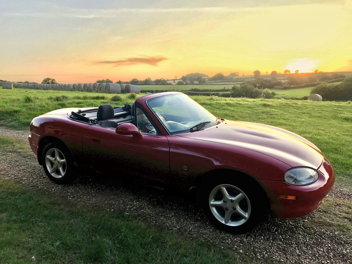 2000 MAZDA MX-5 ISOLA LIMITED EDITION For Sale (picture 1 of 6)