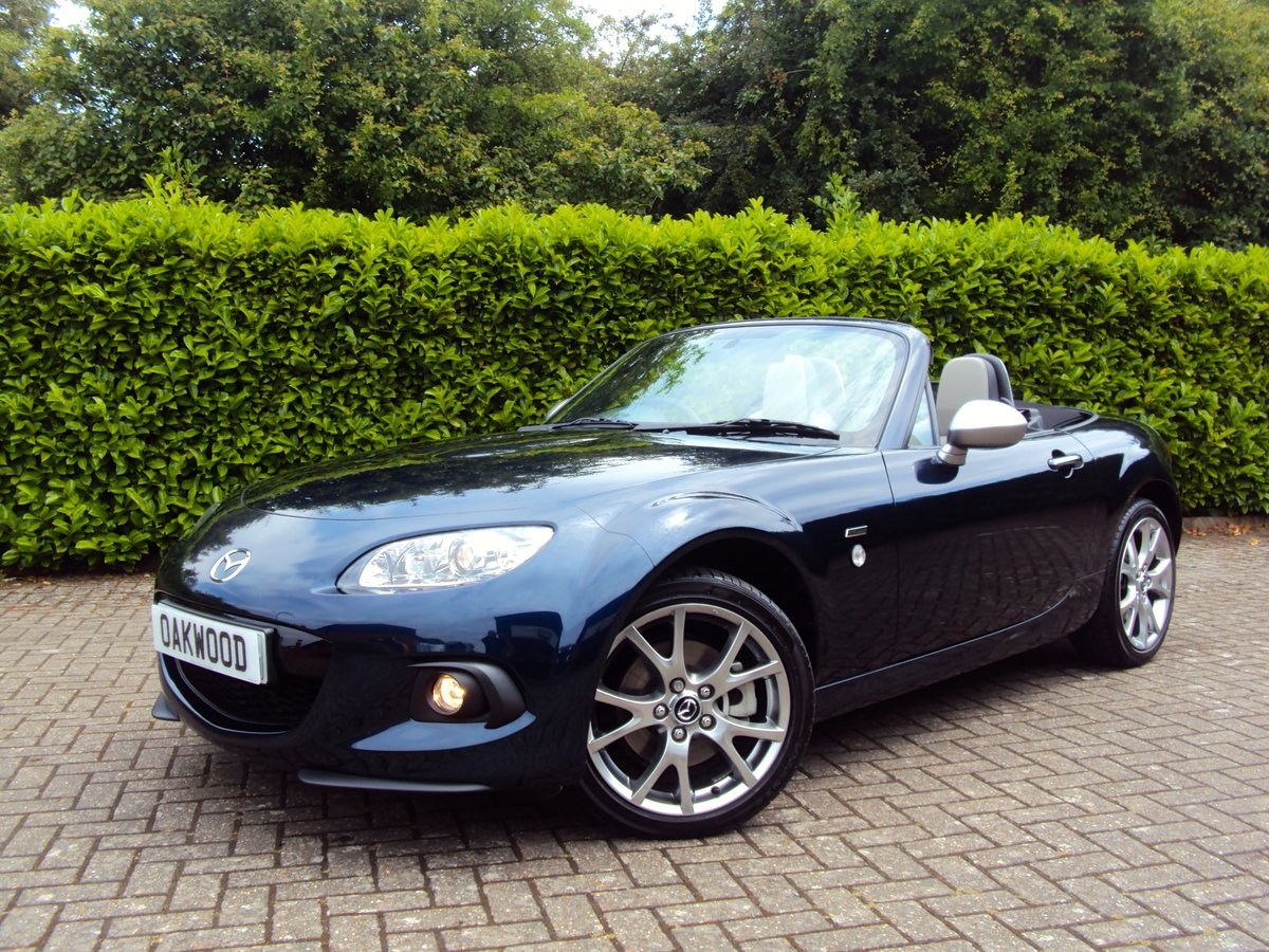2014 NOW SOLD - SIMILAR REQUIREDMazda MX-5 with ONLY 5,000 MILES! For Sale (picture 1 of 6)