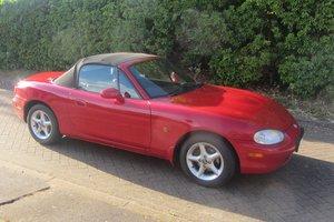 1999 Mazda MX5 Mk2  Red