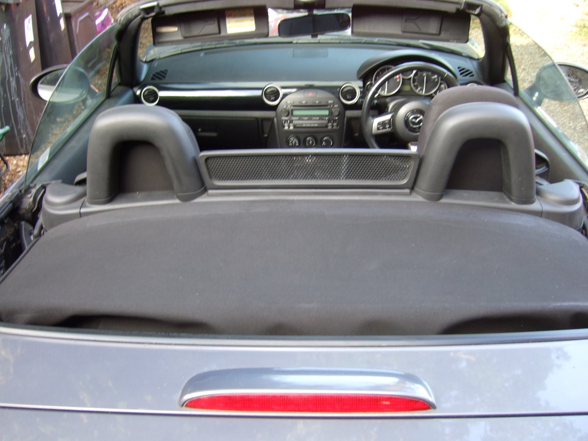 2006 Mazda MX 5 finished in galaxy grey. For Sale (picture 6 of 6)