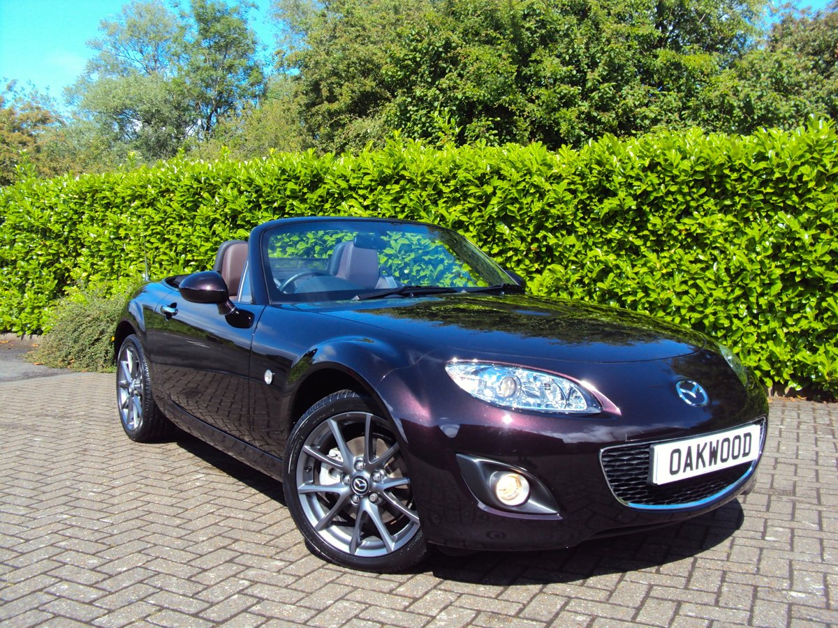 2012 A STUNNING Low Mileage Mazda MX-5 with ONLY 13,000 MILES FSH For Sale (picture 1 of 6)
