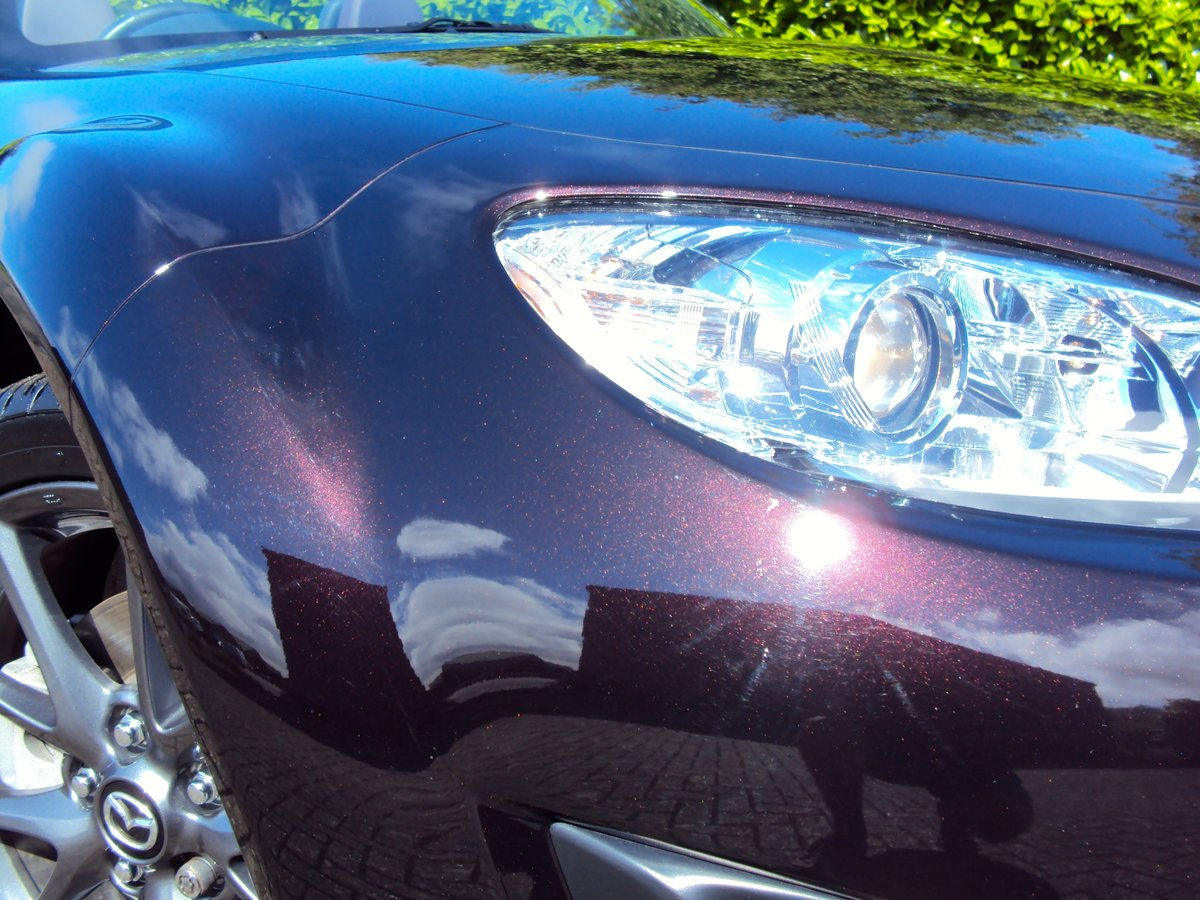 2012 A STUNNING Low Mileage Mazda MX-5 with ONLY 13,000 MILES FSH For Sale (picture 2 of 6)