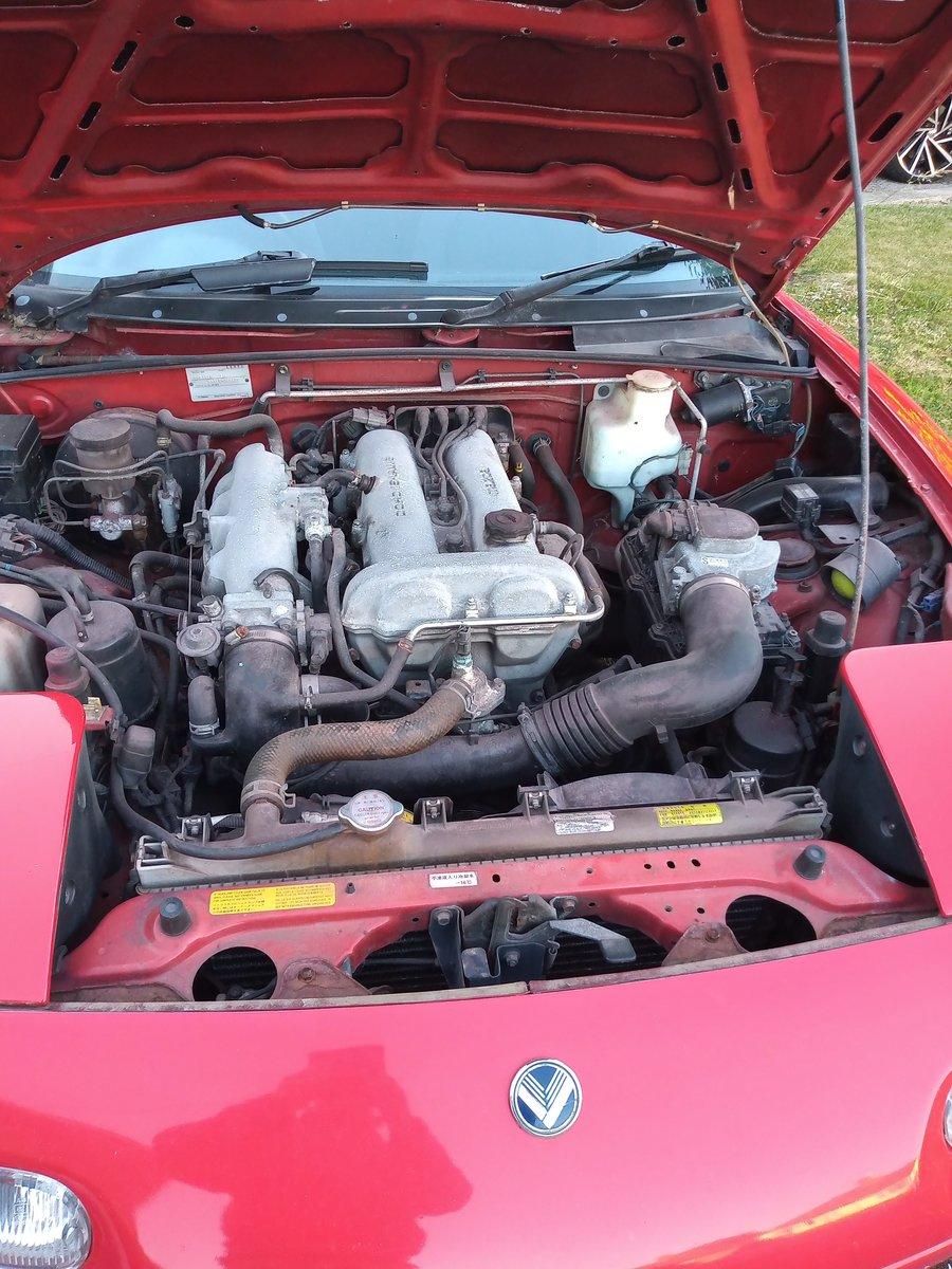 1991 Mazda MX5 Automatic For Sale (picture 6 of 6)