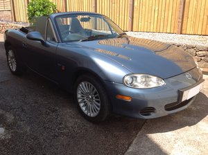 2005 Mazda MX5 Arctic 1.8, One Owner from New.