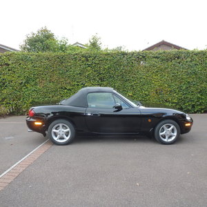 1999 Mazda MX5 Black 15000 miles from new only 2 owners