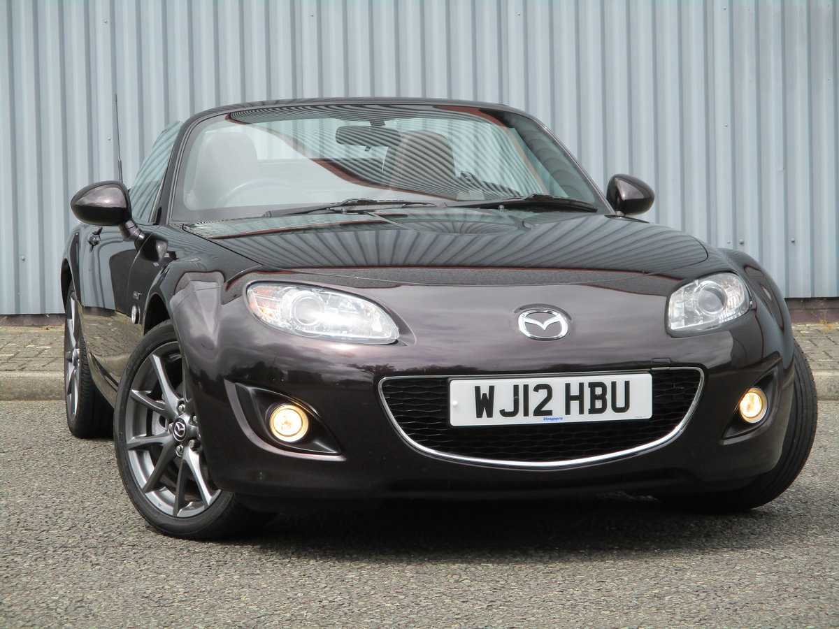 2012 Beautiful MX5 Venture Edition 2.0 Roadster. MX5 SPECIALISTS For Sale (picture 1 of 6)
