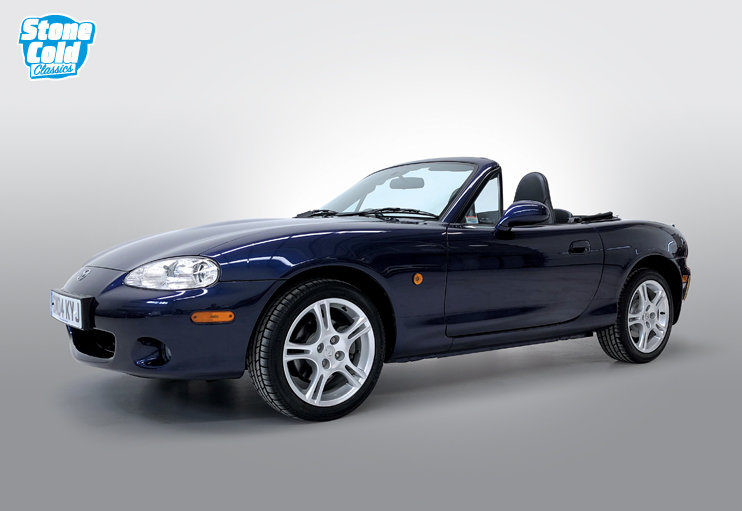 2004 Mazda MX5 S-VT Sport, one owner just 15,000 miles, FSH SOLD (picture 1 of 10)