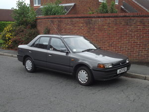 1991 Mazda 323 GLXi ABS One Owner Genuine 24000 miles