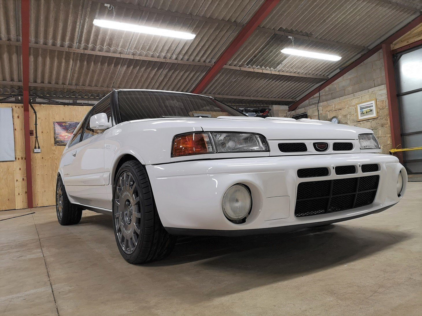 1992 Mazda Familia GTR,45,131 miles from new For Sale (picture 1 of 6)