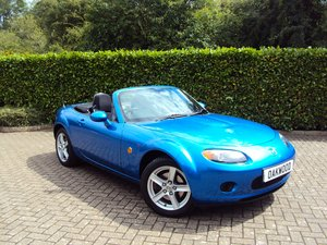 A Lovely Low Mileage Mazda MX-5 2.0i - Same Owner 10 Years