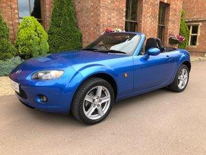 2006 Mazda MX5 conv 55k beautiful winning blue new mot/servi