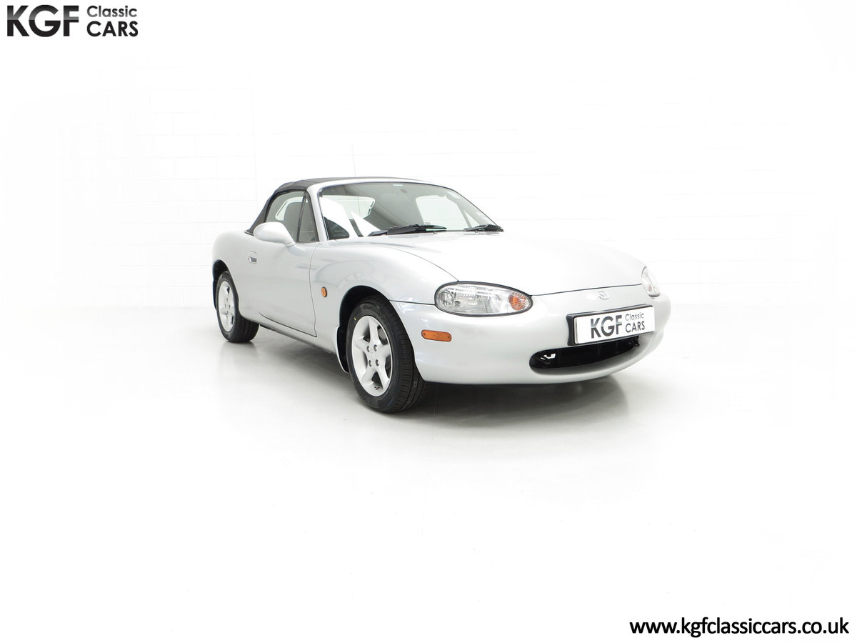 1998 An Immaculate Mazda MX5 1.6i with Only 13,061 Miles SOLD (picture 1 of 24)