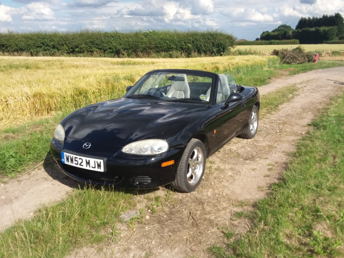 2002 Mazda mx-5 trilogy ltd edition SOLD (picture 1 of 6)