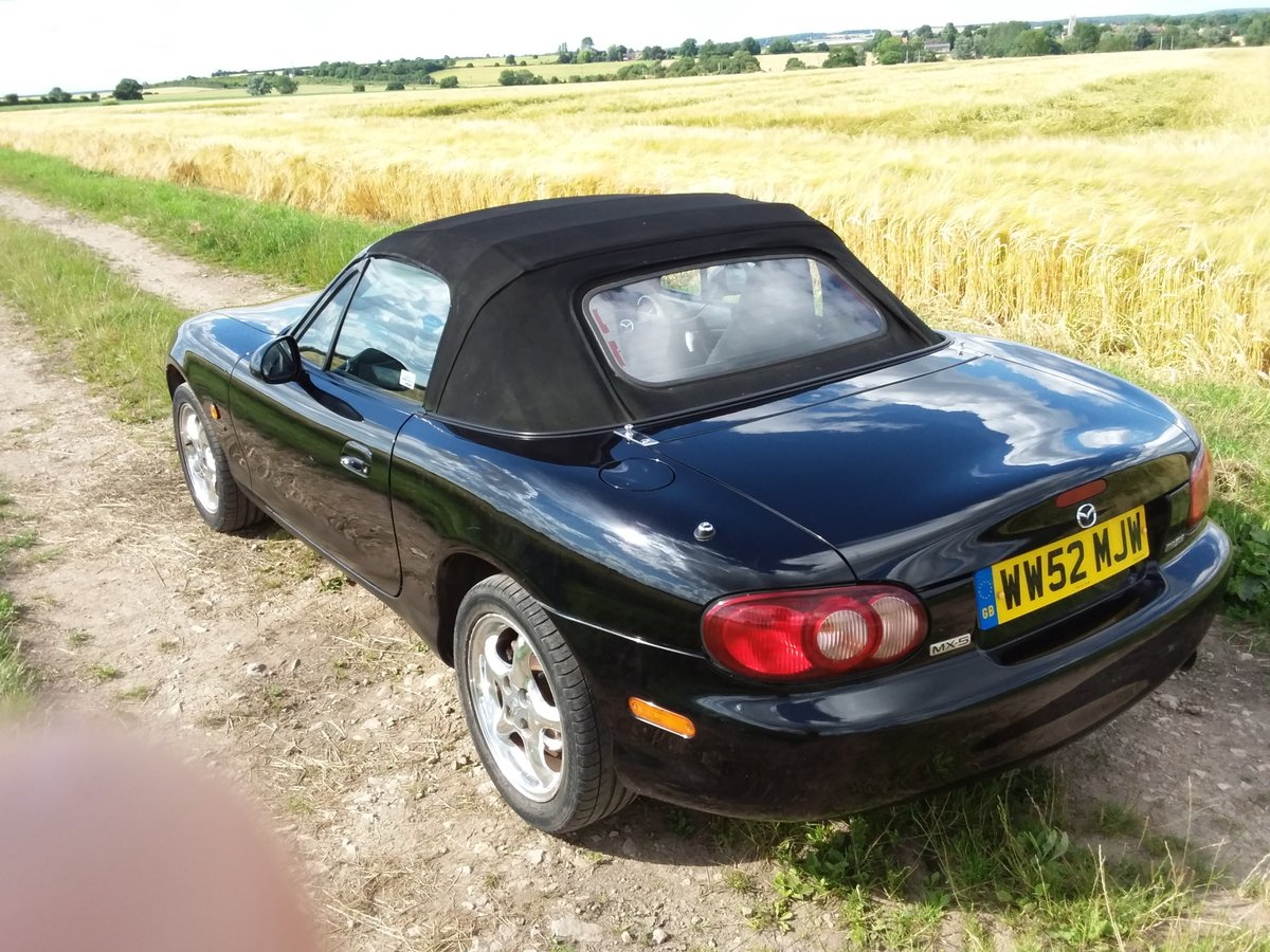 2002 Mazda mx-5 trilogy ltd edition SOLD (picture 2 of 6)