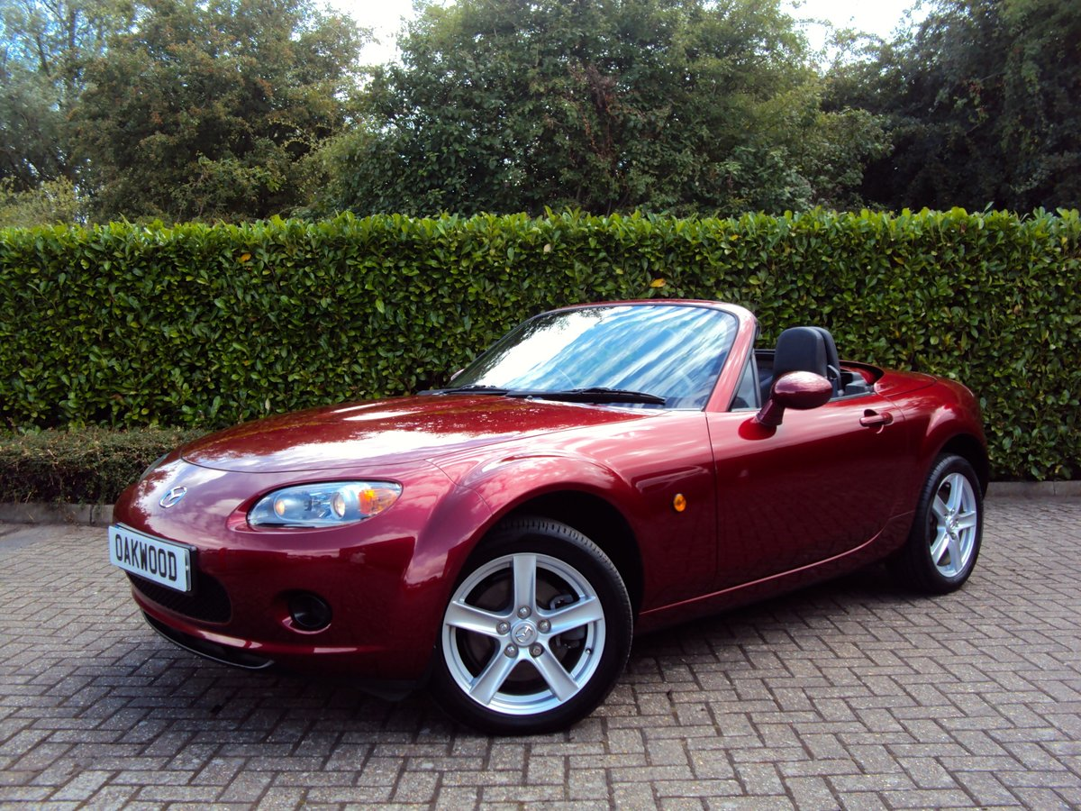 2007 An EXCEPTIONAL Low Mileage MX-5 FOLDING HARDTOP - IMMACULATE For Sale (picture 1 of 6)