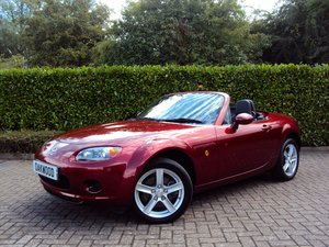 An EXCEPTIONAL Low Mileage MX-5 FOLDING HARDTOP - IMMACULATE